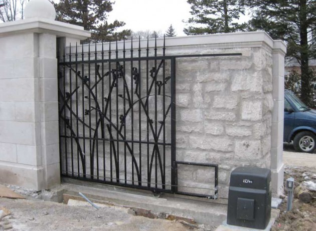 Residential And Commercial Slide Gates Ontario Accurate