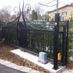 residential slide gate