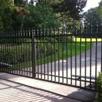 residential swing gate