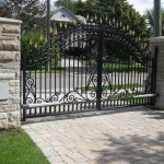 residential slide gate 2 door